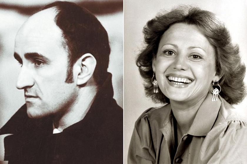 Koltai János és felesége, Pap Éva.