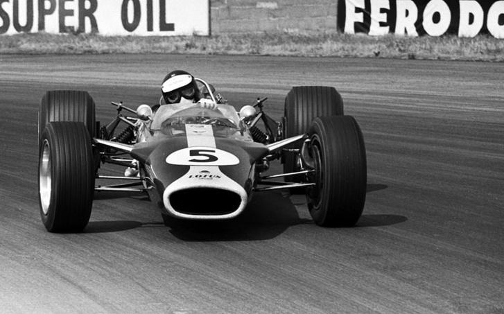 Clark és a Lotus 49-es