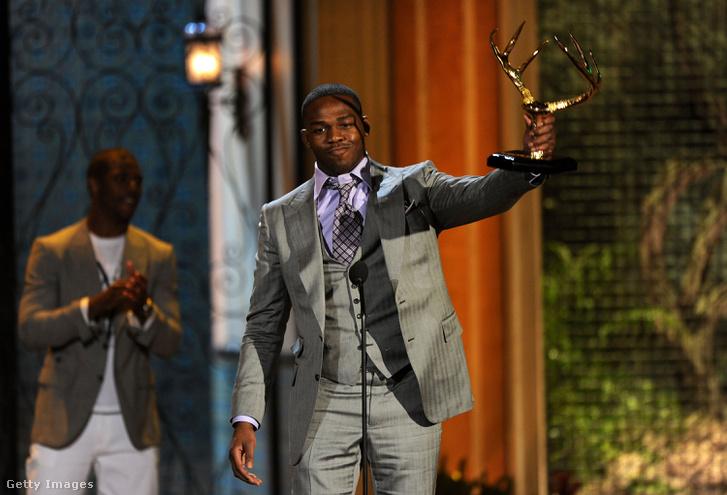 """A """"Legveszélyesebb férfinak"""" járó díjjal 2011-ben"""