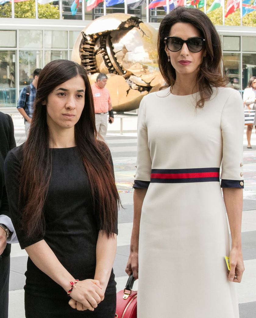 Nadia Murad és Amal Clooney