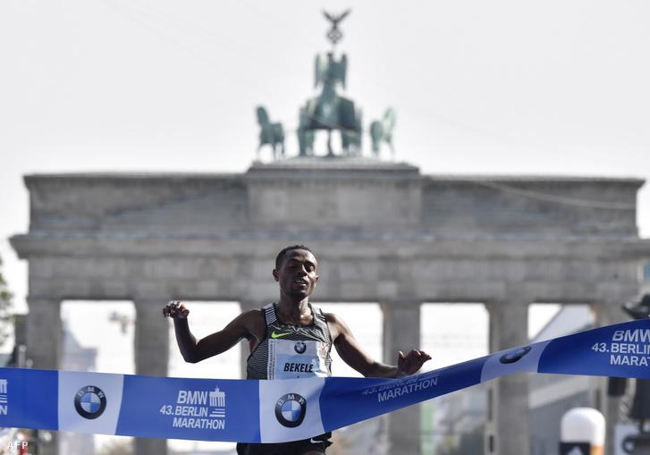 Kenenisa Bekele a tavalyi berlini maratonon