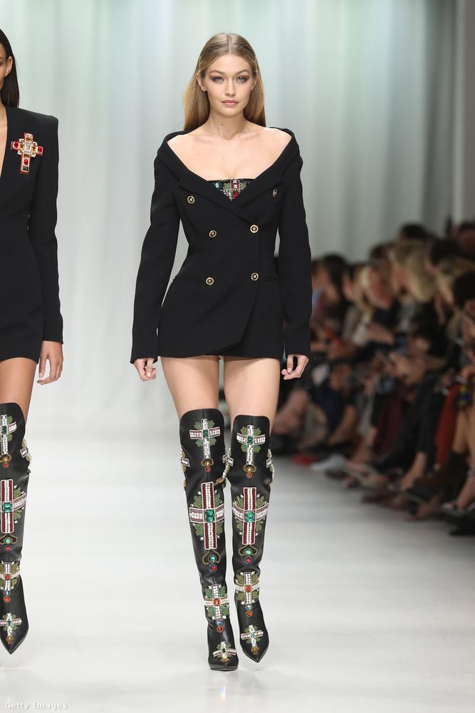 De nem ő volt az egyetlen híres modell a divatbemutatón a fiatalabb generációból, ő például Gigi Hadid.