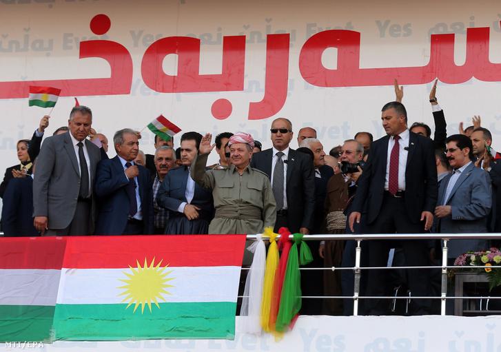 Maszúd Barzani az észak-iraki kurd autonóm régió elnöke (k)