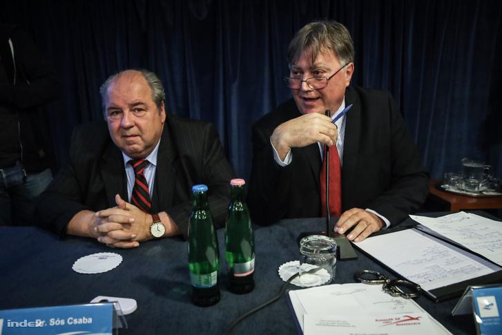 Sós Csaba szövetségi kapitány és Sándor Elek