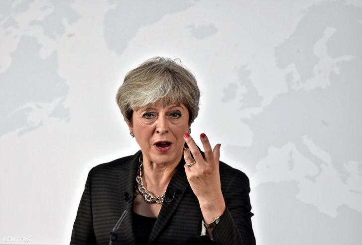 Theresa May pénteki beszéde