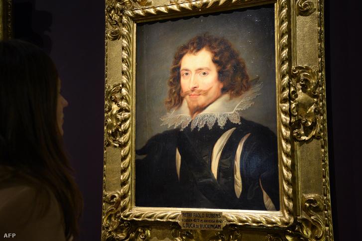 Rubens egyik George Villiers-t ábrázoló portréja, melyet Párizsban az Invalidusok Múzeumában tekinthet meg