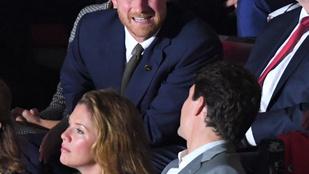 Harry herceg és Melania Trump közös fotóitól mi érezzük magunkat kellemetlenül