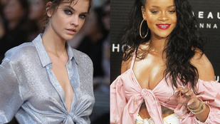 Ikertornyok: Palvin Barbara és Rihanna összecsomózott felsőben