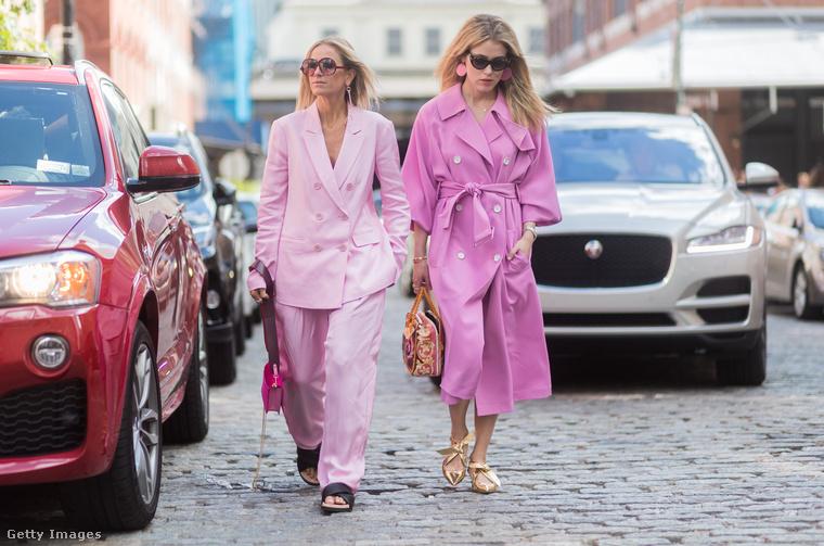 A Vogue szerint a vártnál több  divatszakember tart ki a rózsaszín mellett az ősszel.