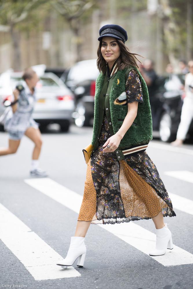 Így öltözik egy New York-i divatkövető 2017 őszén.