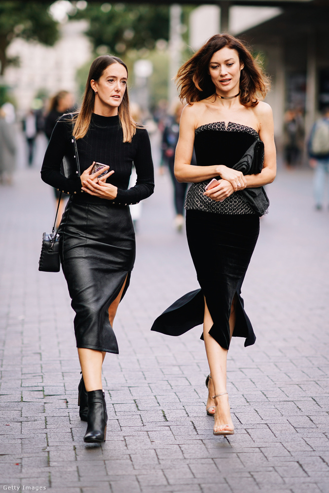Londonban megmutatták, hogy a kis fekete ruha tényleg örök
