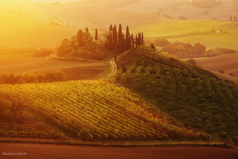 A telet inkább hanyagoljuk még egy darabig? Irány Olaszország, azon belül is Toscana, mert ha valahol, itt aztán tényleg fantasztikus az ősz