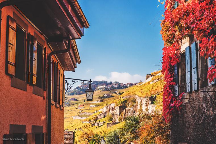 Ez a kép is készülhetett volna valami mediterrán helyen, pedig ez bizony Svájc
