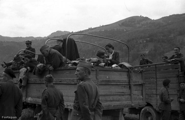 Menekülő lengyelek 1939 szeptemberében.