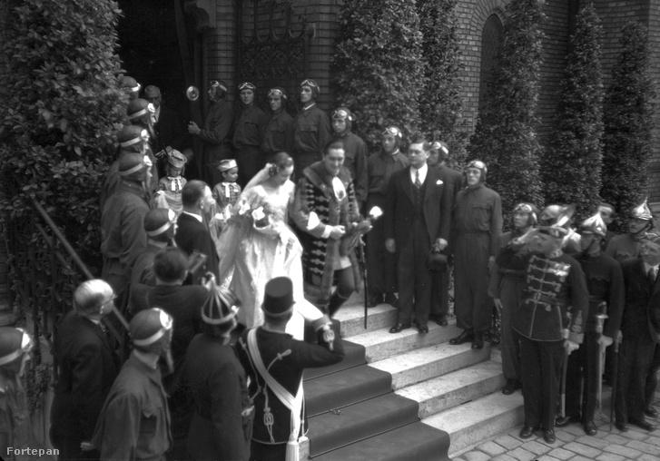 Horthy István és gróf Edelsheim-Gyulay Ilona esküvője, 1940