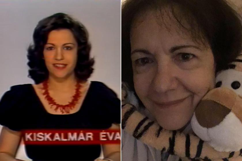 Kiskalmár Éva 1977 és 1988 között volt a Magyar Televízió műsorvezetője, bemondója, hírolvasója és riportere. Idén júliusban lett 64 éves.