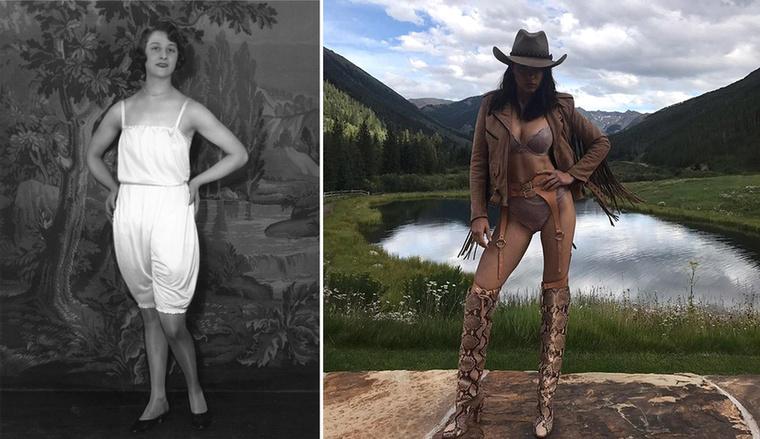 1928-ban festették a természetet, Adriana Limát viszont elvitték a hegyekbe.