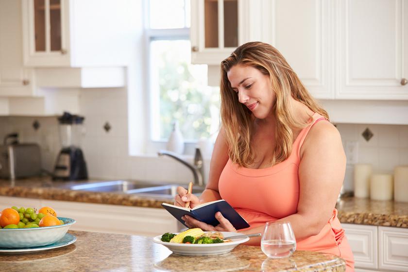 Dupla fogyást jelent: így kell pontosan étkezési naplót vezetni a kutatók szerint