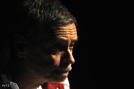 Kulcsár Győző, a Nemzet Sportolója, négyszeres olimpiai bajnok vívó, edző, sportvezető a pekingi olimpián (Fotó: Földi Imre)
