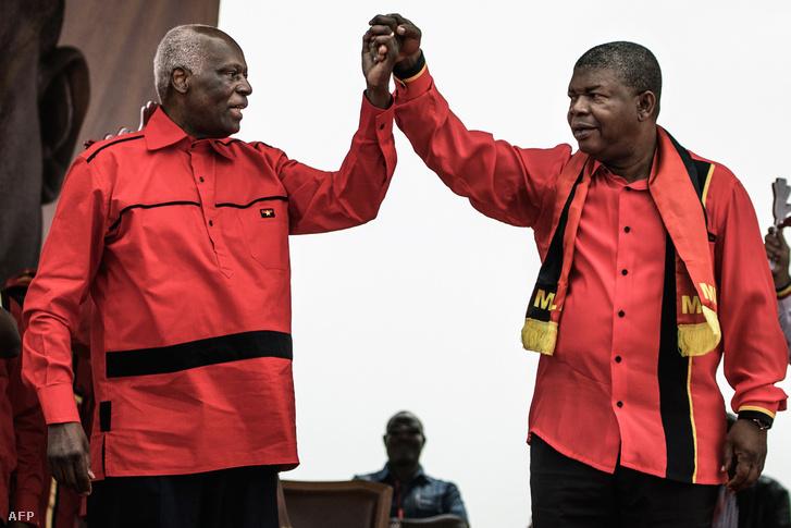 José Eduardo dos Santos és Joao Lourenco, Angola új elnöke