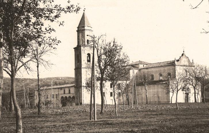 A Folloni rendház épülete (1941)