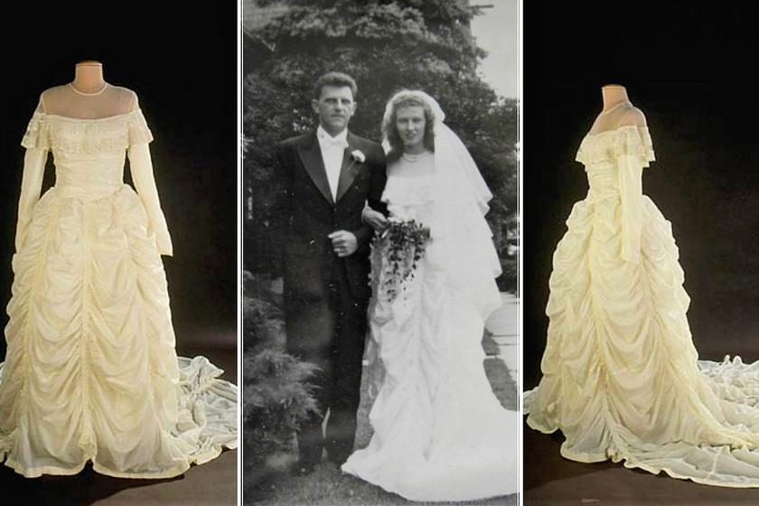 ejtőernyő-esküvői ruha