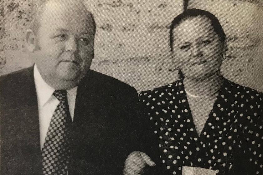Benke László és felesége, Dani Katalin.