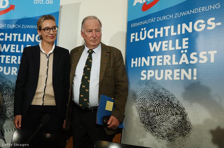 Alice Weidel és Alexander Gauland