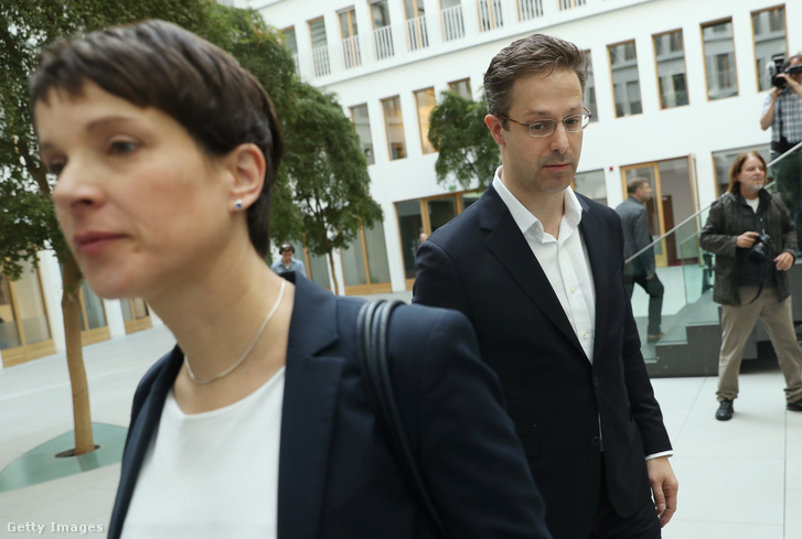 Frauke Petry és Marcus Pretzell