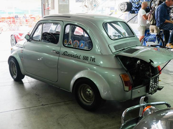 Nem Abarth, hanem egy talán még durvább Fiat 500 Giannini