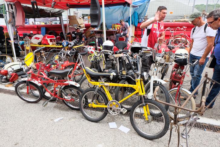 A börze slágere idén: pepperoni bicajok