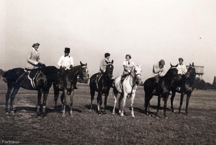 A rákosmezei lovassági gyakorlótér az 1930-as években