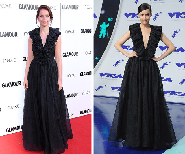 Felicity Jones vs Sofia Carson