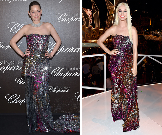 Marion Cotillard vs Katy Perry