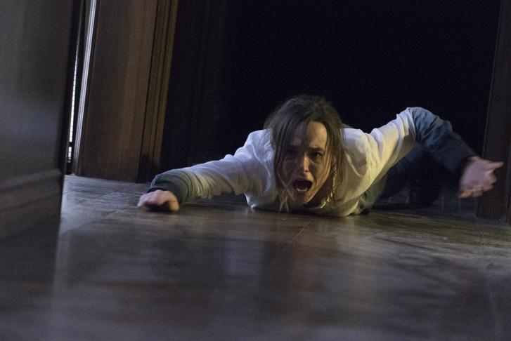 Ellen Page az Egyenesen át című filmben