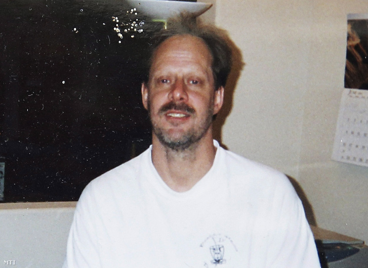 Stephen Paddok, a fehér, amerikai elkövető