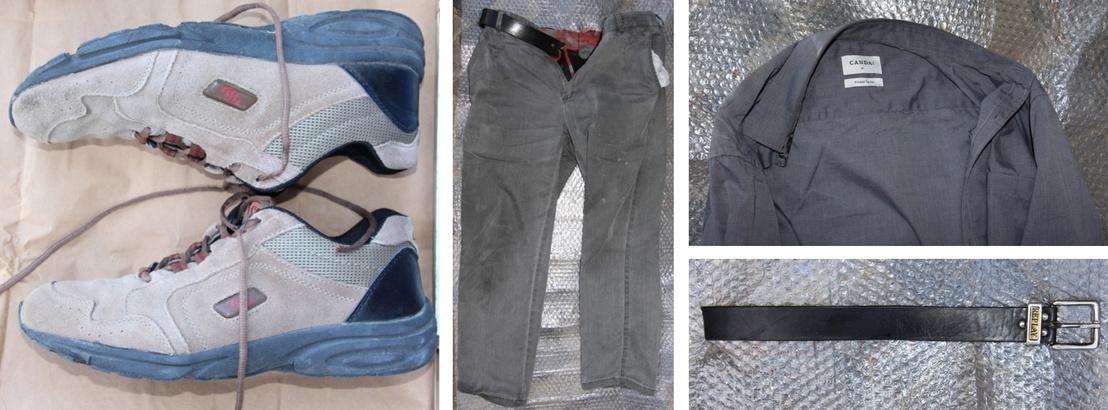 A férfi ruhái