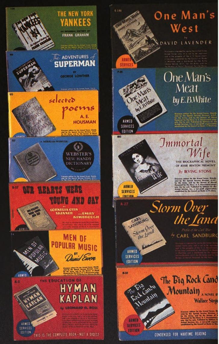 Néhány példa a Katonai Kiadású könyvekre