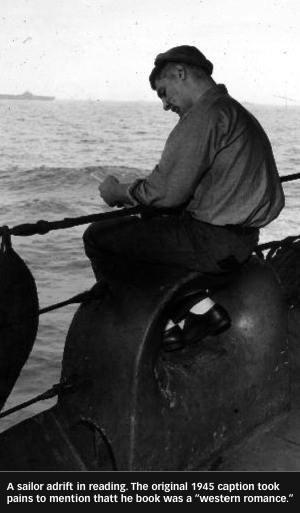 Egy tengerész elmerül a könyvében (1945)