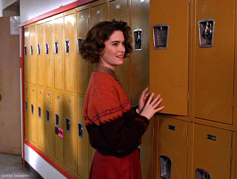 A színésznő 21 éves volt, amikor gimnazistát alakított a sorozatban,