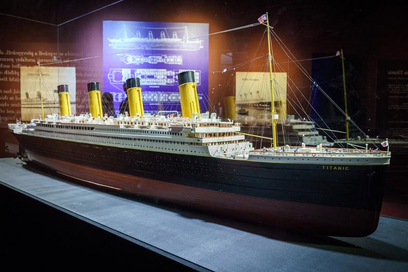 titanic kiallitas