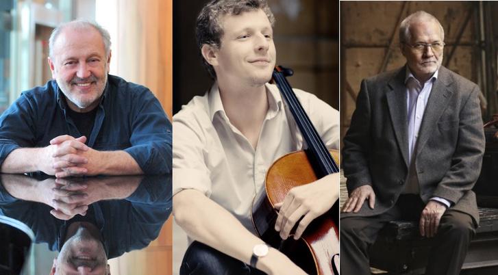A Prima-díjasok zeneművészet kategóriában 2017-ben: Antal Mátyás, Várdai István és Eötvös Péter