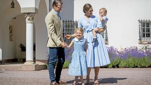Adásunkat megszakítjuk: ez a svéd hercegnő van olyan aranyos, mint Sarolta