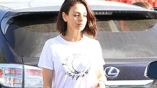 Mila Kunis smink nélkül olyan, mint egy fáradt kamaszlány