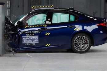 Biztonságosnak bizonyult az Alfa Giulia