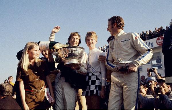 Jochen Rindt a dobogó tetején
