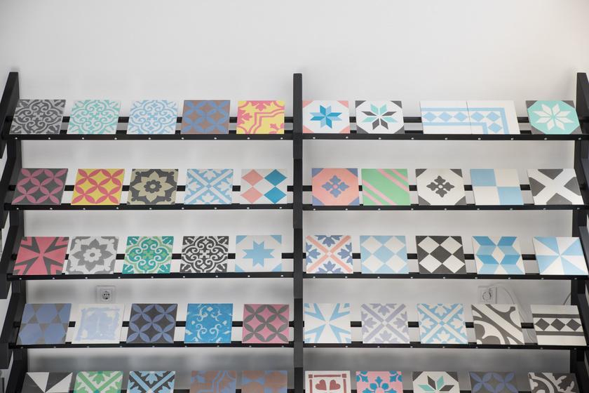 Egyedi csempék a Design Hét gyűjteményéből