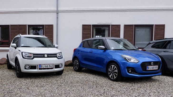 Suzuki Év Autója idei esélyesek Ignis és Swift