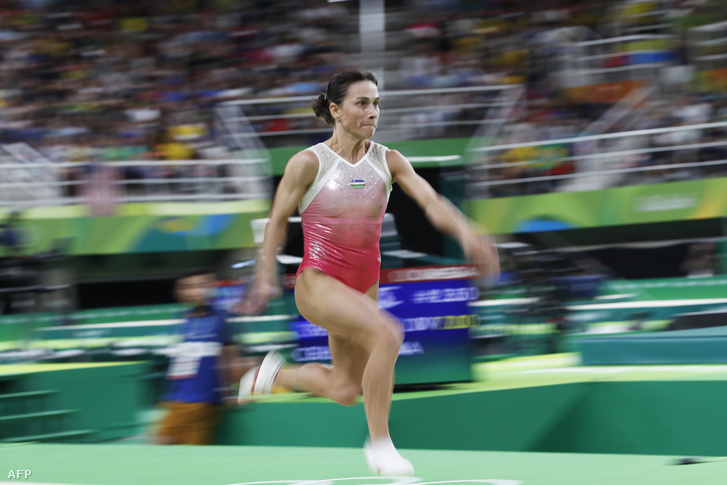 Okszana Csuszovityina a riói olimpián 2016-ban