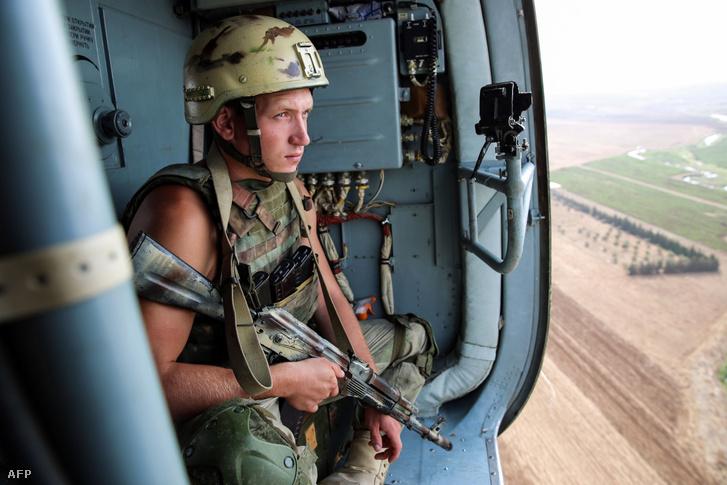 Orosz katona Szíriában